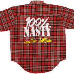 Official Team Nasty 'Lumberjack' Shirt [RED EDITION]