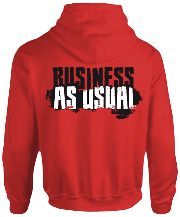 Official Team Nasty Hoody Business As Usual
