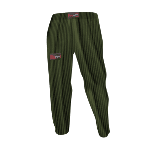 Team Nasty Old Skool Baggies Military Green Striped