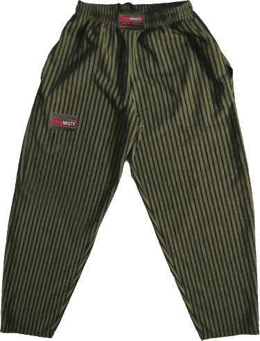 Official Team Nasty Military Green Bodybuilder Gym Pants [Baggies]
