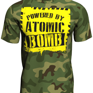 Powered by Atomic Bomb